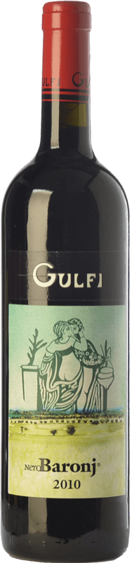 26,95 € | Red wine Gulfi Nero Baronj I.G.T. Terre Siciliane Sicily Italy Nero d'Avola Bottle 75 cl