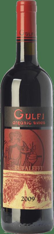 47,95 € Free Shipping | Red wine Gulfi Nero Bufaleffj I.G.T. Terre Siciliane Sicily Italy Nero d'Avola Bottle 75 cl
