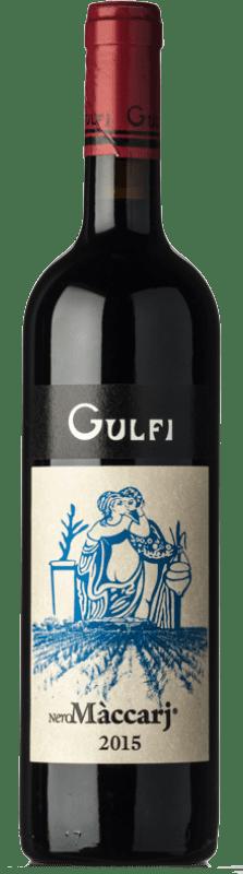 35,95 € Free Shipping | Red wine Gulfi Nero Màccarj I.G.T. Terre Siciliane Sicily Italy Nero d'Avola Bottle 75 cl