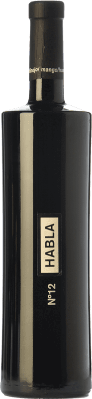 21,95 € | Red wine Habla Nº 12 Crianza I.G.P. Vino de la Tierra de Extremadura Estremadura Spain Syrah Bottle 75 cl