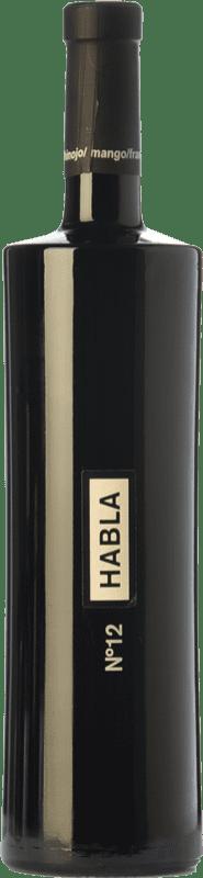 21,95 € Envío gratis | Vino tinto Habla Nº 12 Crianza I.G.P. Vino de la Tierra de Extremadura Extremadura España Syrah Botella 75 cl
