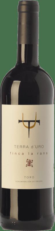 12,95 € | Red wine Terra d'Uro Finca La Rana Joven D.O. Toro Castilla y León Spain Tinta de Toro Bottle 75 cl