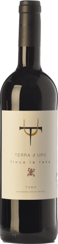 12,95 € Envío gratis | Vino tinto Terra d'Uro Finca La Rana Joven D.O. Toro Castilla y León España Tinta de Toro Botella 75 cl