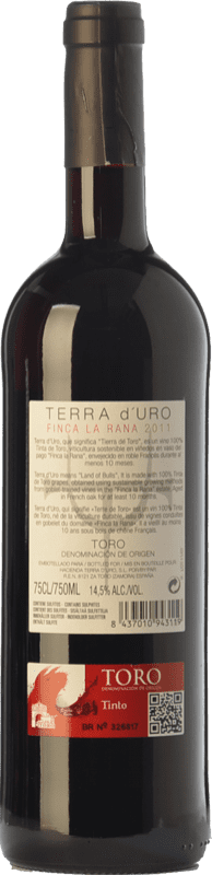 12,95 € Free Shipping   Red wine Terra d'Uro Finca La Rana Joven D.O. Toro Castilla y León Spain Tinta de Toro Bottle 75 cl