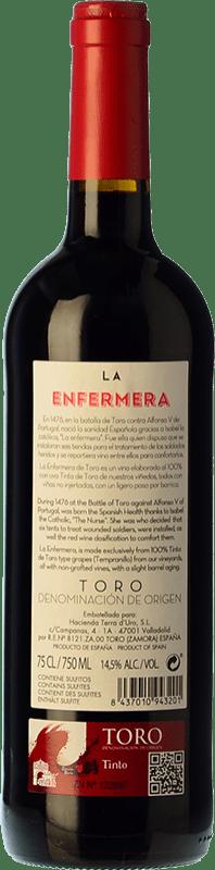 8,95 € Free Shipping   Red wine Terra d'Uro La Enfermera de Toro Joven D.O. Toro Castilla y León Spain Tempranillo Bottle 75 cl