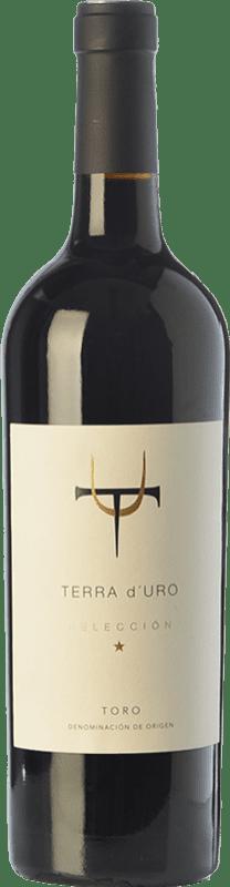 23,95 € Envío gratis | Vino tinto Terra d'Uro Selección Crianza D.O. Toro Castilla y León España Tinta de Toro Botella 75 cl