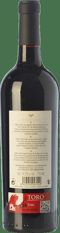 22,95 € Free Shipping | Red wine Terra d'Uro Selección Crianza D.O. Toro Castilla y León Spain Tinta de Toro Bottle 75 cl