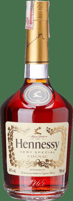 31,95 € 免费送货 | 科涅克白兰地 Hennessy Very Special A.O.C. Cognac 法国 瓶子 70 cl