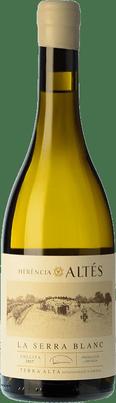 24,95 € 免费送货 | 白酒 Herència Altés La Serra Blanc Crianza D.O. Terra Alta 加泰罗尼亚 西班牙 Grenache White 瓶子 75 cl