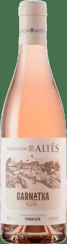 7,95 € Envío gratis | Vino rosado Herència Altés Rosat Negra D.O. Terra Alta Cataluña España Garnacha Botella 75 cl