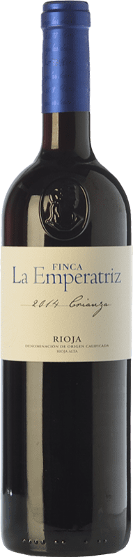 9,95 € | Red wine Hernáiz La Emperatriz Crianza D.O.Ca. Rioja The Rioja Spain Tempranillo, Grenache, Viura Bottle 75 cl