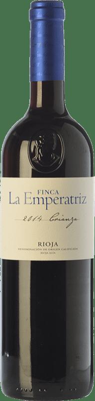 9,95 € Envío gratis | Vino tinto Hernáiz La Emperatriz Crianza D.O.Ca. Rioja La Rioja España Tempranillo, Garnacha, Viura Botella 75 cl