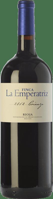 9,95 € Free Shipping | Red wine Hernáiz La Emperatriz Crianza D.O.Ca. Rioja The Rioja Spain Tempranillo, Grenache, Viura Magnum Bottle 1,5 L