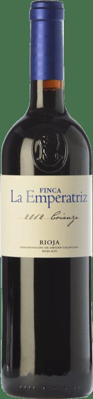 9,95 € Free Shipping | Red wine Hernáiz La Emperatriz Crianza D.O.Ca. Rioja The Rioja Spain Tempranillo, Grenache, Viura Jéroboam Bottle-Double Magnum 3 L