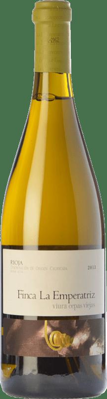 24,95 € Envío gratis | Vino blanco Hernáiz La Emperatriz Cepas Viejas Crianza D.O.Ca. Rioja La Rioja España Viura Botella 75 cl