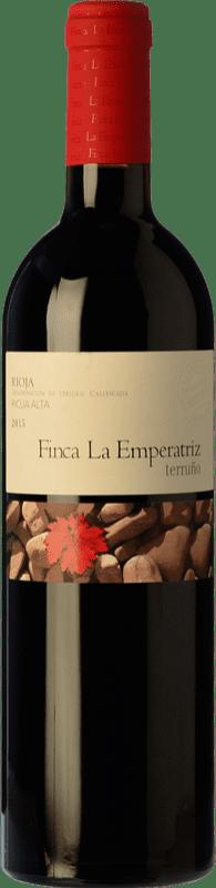 24,95 € Envío gratis | Vino tinto Hernáiz La Emperatriz Terruño Crianza D.O.Ca. Rioja La Rioja España Tempranillo Botella 75 cl