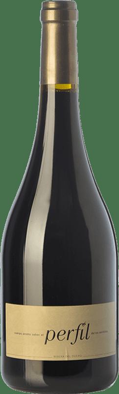 47,95 € Free Shipping | Red wine Hornillos Ballesteros Perfil de Mibal Crianza D.O. Ribera del Duero Castilla y León Spain Tempranillo Bottle 75 cl