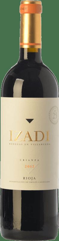 5,95 € Free Shipping | Red wine Izadi Crianza D.O.Ca. Rioja The Rioja Spain Tempranillo Half Bottle 37 cl