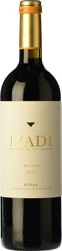 18,95 € | Red wine Izadi Crianza D.O.Ca. Rioja The Rioja Spain Tempranillo Magnum Bottle 1,5 L