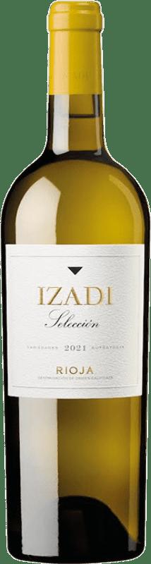 8,95 € Free Shipping | White wine Izadi Crianza D.O.Ca. Rioja The Rioja Spain Viura, Malvasía Bottle 75 cl