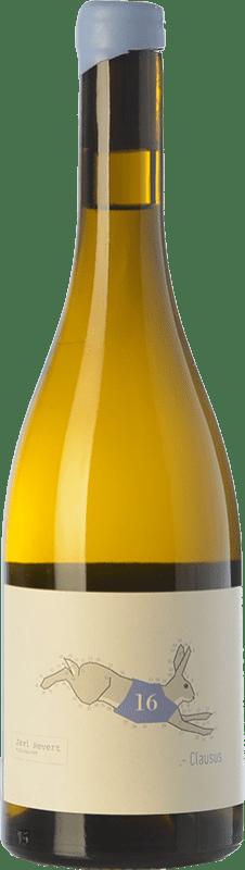16,95 € Envío gratis | Vino blanco Javi Revert Clausus Crianza D.O. Valencia Comunidad Valenciana España Malvasía, Verdil, Merseguera, Trapadell Botella 75 cl