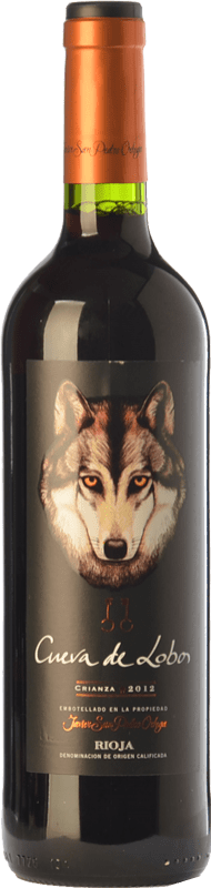8,95 € Envío gratis   Vino tinto San Pedro Ortega Cueva de Lobos Crianza D.O.Ca. Rioja La Rioja España Tempranillo Botella 75 cl