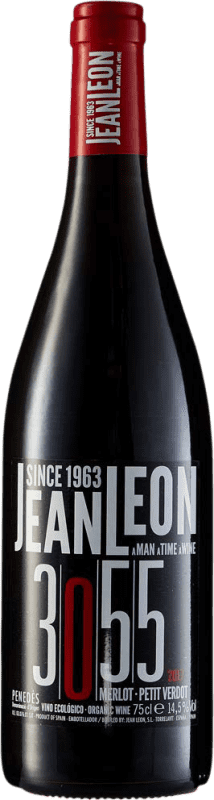 12,95 € | Red wine Jean Leon 3055 Joven D.O. Penedès Catalonia Spain Merlot, Petit Verdot Bottle 75 cl