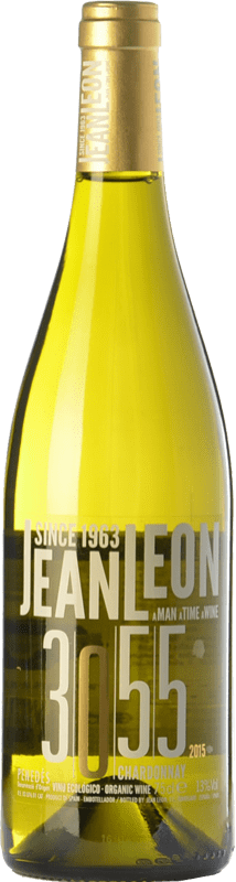 12,95 € | White wine Jean Leon 3055 Crianza D.O. Penedès Catalonia Spain Chardonnay Bottle 75 cl