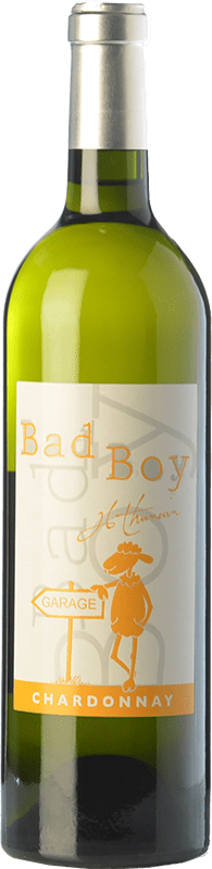 18,95 € Free Shipping | White wine Jean-Luc Thunevin Bad Boy France Chardonnay Bottle 75 cl