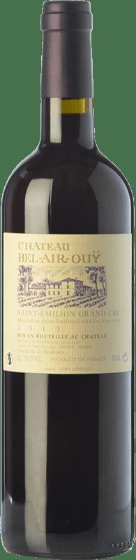 24,95 € Free Shipping | Red wine Jean-Luc Thunevin Château Bel Air Ouÿ Crianza A.O.C. Saint-Émilion Grand Cru Bordeaux France Merlot, Cabernet Sauvignon, Cabernet Franc, Malbec Bottle 75 cl