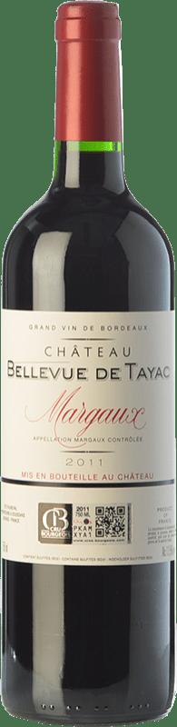 36,95 € Free Shipping | Red wine Jean-Luc Thunevin Château Bellevue de Tayac Crianza A.O.C. Margaux Bordeaux France Merlot, Cabernet Sauvignon, Petit Verdot Bottle 75 cl