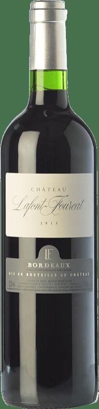 7,95 € Free Shipping | Red wine Jean-Luc Thunevin Château Lafont Fourcat Joven A.O.C. Bordeaux Bordeaux France Merlot, Cabernet Sauvignon, Malbec Bottle 75 cl