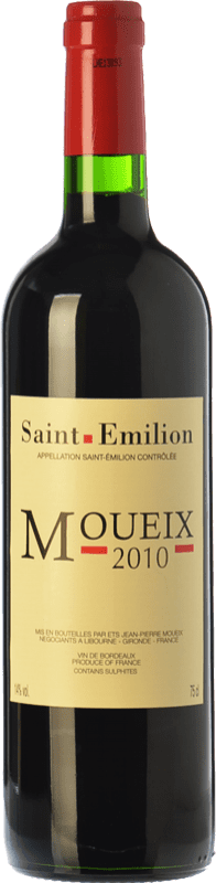 21,95 € | Red wine Jean-Pierre Moueix Moueix Crianza A.O.C. Saint-Émilion Bordeaux France Merlot, Cabernet Franc Bottle 75 cl