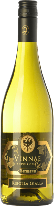 49,95 € Envío gratis | Vino blanco Jermann Vinnae I.G.T. Friuli-Venezia Giulia Friuli-Venezia Giulia Italia Riesling, Ribolla Gialla, Tocai Friulano Botella 75 cl