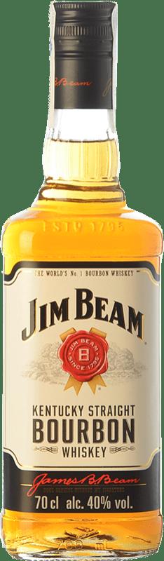 16,95 € | Bourbon Jim Beam Original Kentucky United States Bottle 70 cl