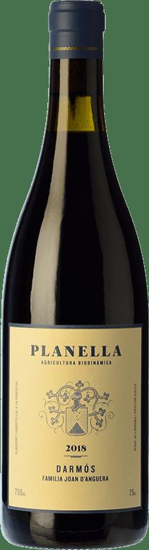 16,95 € Free Shipping | Red wine Joan d'Anguera Planella Crianza D.O. Montsant Catalonia Spain Syrah, Grenache, Cabernet Sauvignon, Carignan Bottle 75 cl