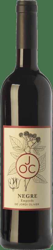 9,95 € Free Shipping | Red wine JOC Negre Joven D.O. Empordà Catalonia Spain Syrah, Grenache, Cabernet Sauvignon, Cabernet Franc Bottle 75 cl