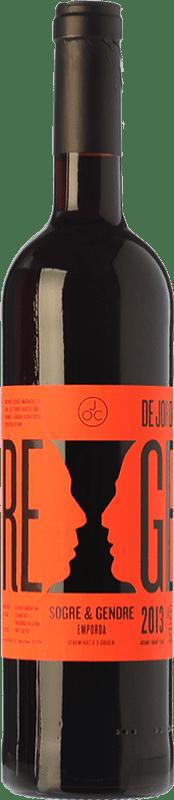 7,95 € Free Shipping | Red wine JOC Sogre & Gendre Joven D.O. Empordà Catalonia Spain Merlot, Grenache, Samsó Bottle 75 cl