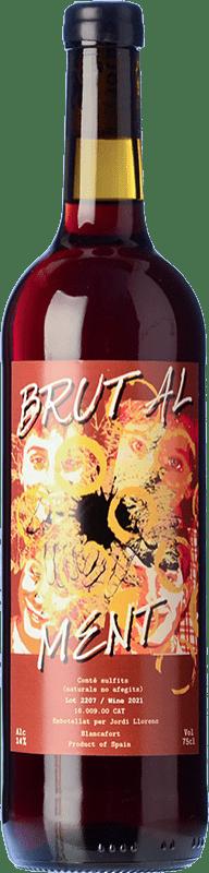 16,95 € Free Shipping | Red wine Jordi Llorens Brutal Joven Spain Syrah, Grenache, Cabernet Sauvignon, Macabeo Bottle 75 cl