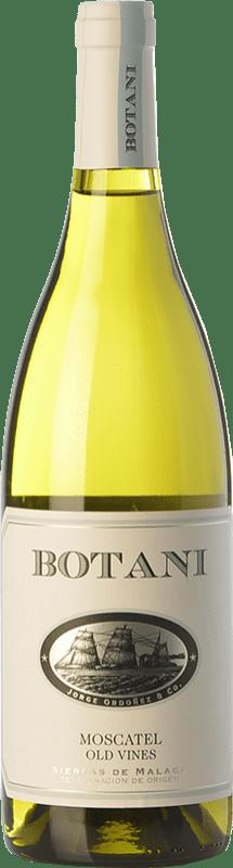13,95 € 免费送货   白酒 Jorge Ordóñez Botani D.O. Sierras de Málaga 安达卢西亚 西班牙 Muscat of Alexandria 瓶子 75 cl