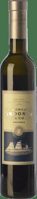 19,95 € 免费送货   甜酒 Jorge Ordóñez Nº 2 Victoria D.O. Sierras de Málaga 安达卢西亚 西班牙 Muscat of Alexandria 半瓶 37 cl