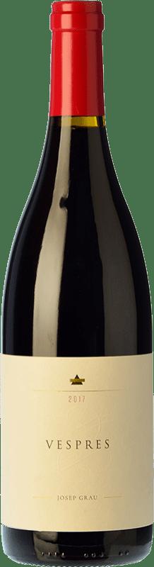 18,95 € 免费送货 | 红酒 Josep Grau Vespres Joven D.O. Montsant 加泰罗尼亚 西班牙 Merlot, Grenache 瓶子 75 cl