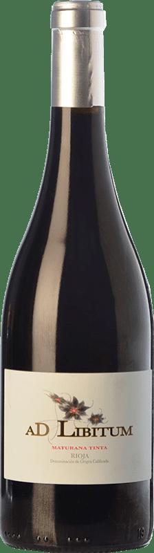 12,95 € | Red wine Sancha Ad Libitum Crianza D.O.Ca. Rioja The Rioja Spain Maturana Tinta Bottle 75 cl