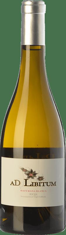 14,95 € | White wine Sancha Ad Libitum Crianza D.O.Ca. Rioja The Rioja Spain Maturana White Bottle 75 cl