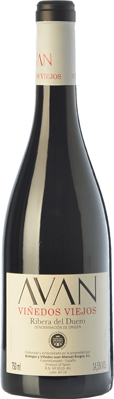 18,95 € Envoi gratuit   Vin rouge Juan Manuel Burgos Avan Viñedos Viejos Crianza D.O. Ribera del Duero Castille et Leon Espagne Tempranillo Bouteille 75 cl