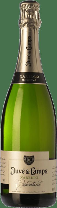 15,95 € | White sparkling Juvé y Camps Essential Reserva D.O. Cava Catalonia Spain Xarel·lo Bottle 75 cl
