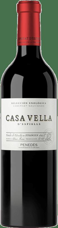 12,95 € | Red wine Juvé y Camps Casa Vella d'Espiells Crianza D.O. Penedès Catalonia Spain Cabernet Sauvignon Bottle 75 cl