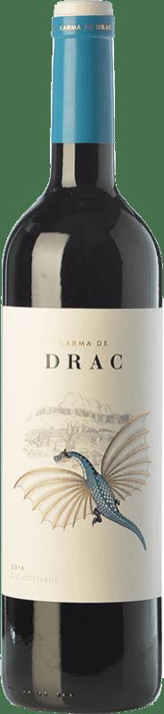11,95 € Free Shipping | Red wine Karma de Drac Joven D.O. Montsant Catalonia Spain Grenache, Carignan Bottle 75 cl