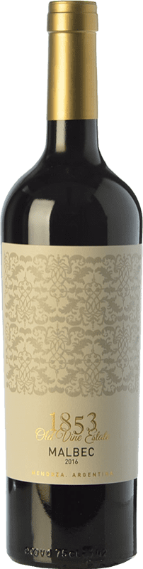 9,95 € | Red wine Kauzo 1853 Joven I.G. Valle de Uco Uco Valley Argentina Malbec Bottle 75 cl
