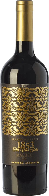 14,95 € Free Shipping   Red wine Kauzo 1853 Reserve Selected Parcel Reserva I.G. Valle de Uco Uco Valley Argentina Malbec Bottle 75 cl